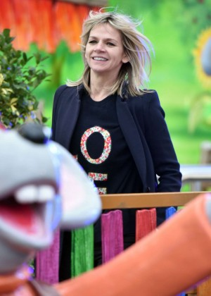 Zoe Ball at Winter Wonderland in London
