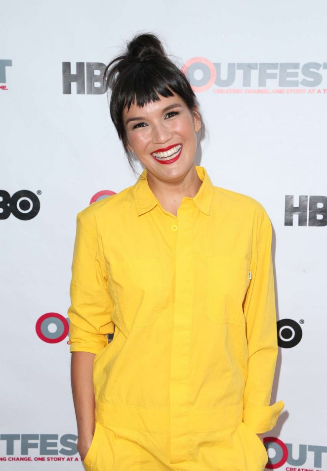 Zoe Chao - 'Strangers' Screening at Outfest Los Angeles LGBT Film Festival in LA