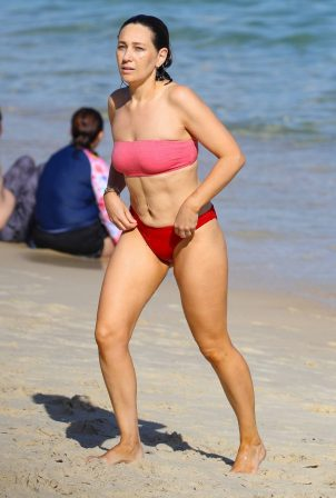 Zoe Foster - In a bikini at Nielsen Park beach in Sydney