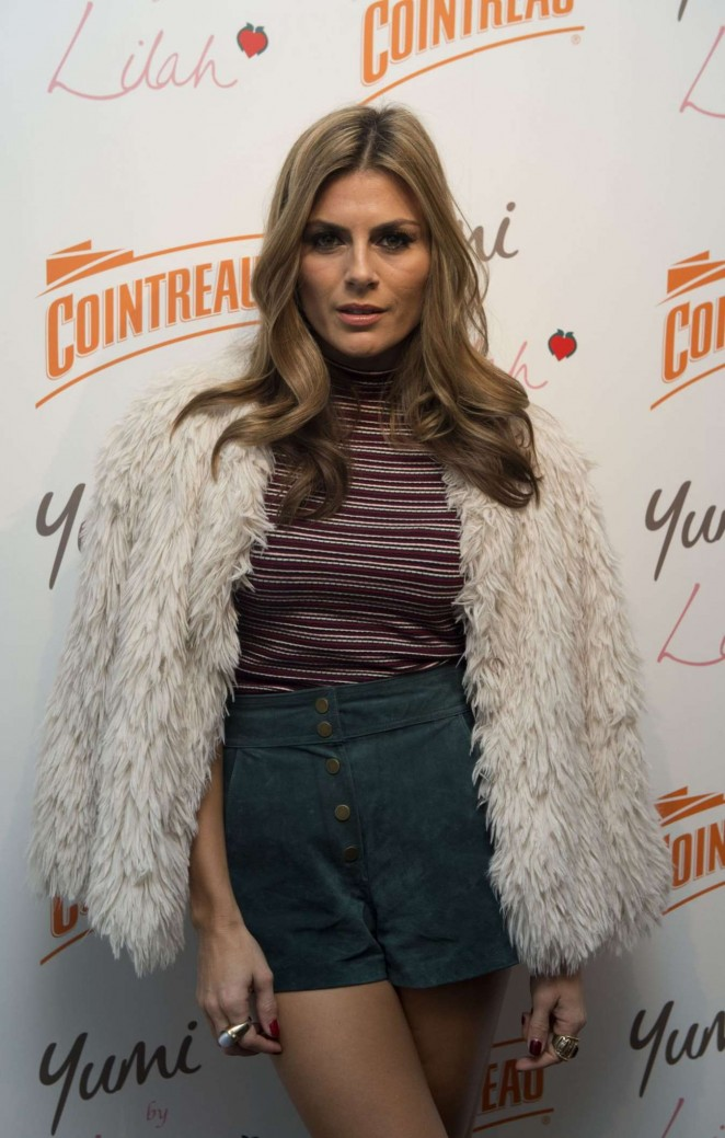 Zoe Hardman - Cointreau Launch Party for Yumi By Lilah 2016 Collection in London
