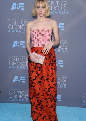 Zoe Kazan - 2016 Critics' Choice Awards in Santa Monica