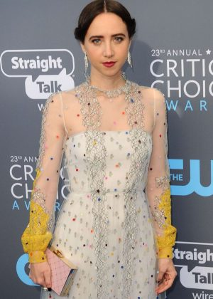Zoe Kazan - Critics' Choice Awards 2018 in Santa Monica