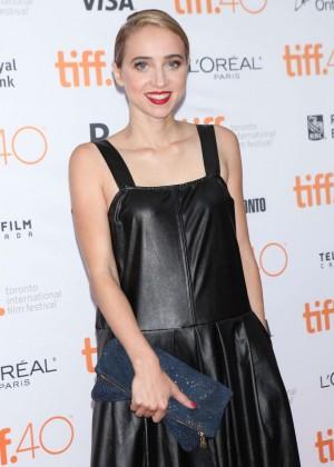 Zoe Kazan - 'Our Brand is Crisis' Premiere in Toronto