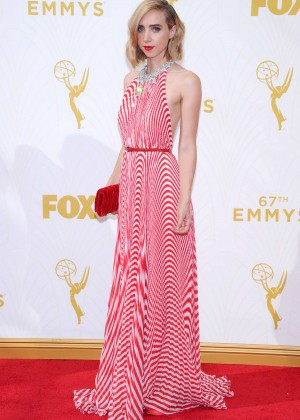Zoe Kazan - 2015 Primetime Emmy Awards in LA