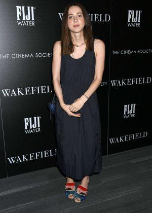 Zoe Kazan - 'Wakefield' Screening in New York