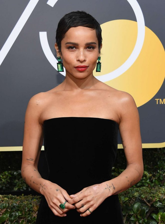 Zoe Kravitz – 2018 Golden Globe Awards in Beverly Hills