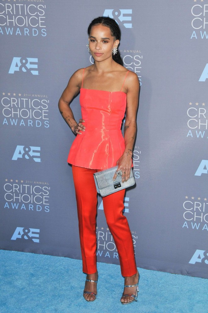 Zoe Kravitz - 2016 Critics' Choice Awards in Santa Monica