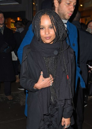 Zoe Kravitz at Bookmarc in NYC