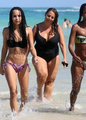Zoe Kravitz: Bikini in Miami -11