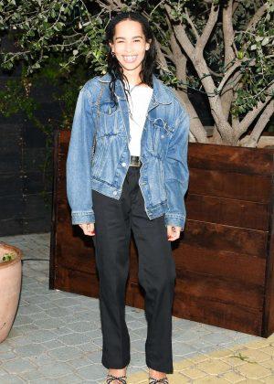 Zoe Kravitz - Bruna Papandrea's Made Up Stories Launch in New York