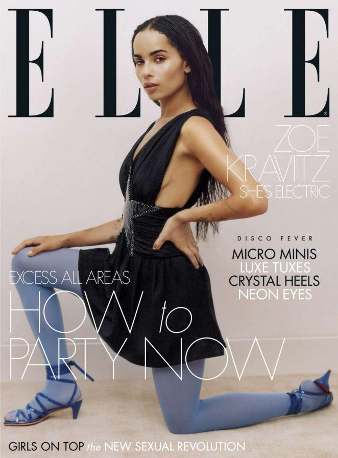 Zoe Kravitz – Elle UK Magazine (December 2018)