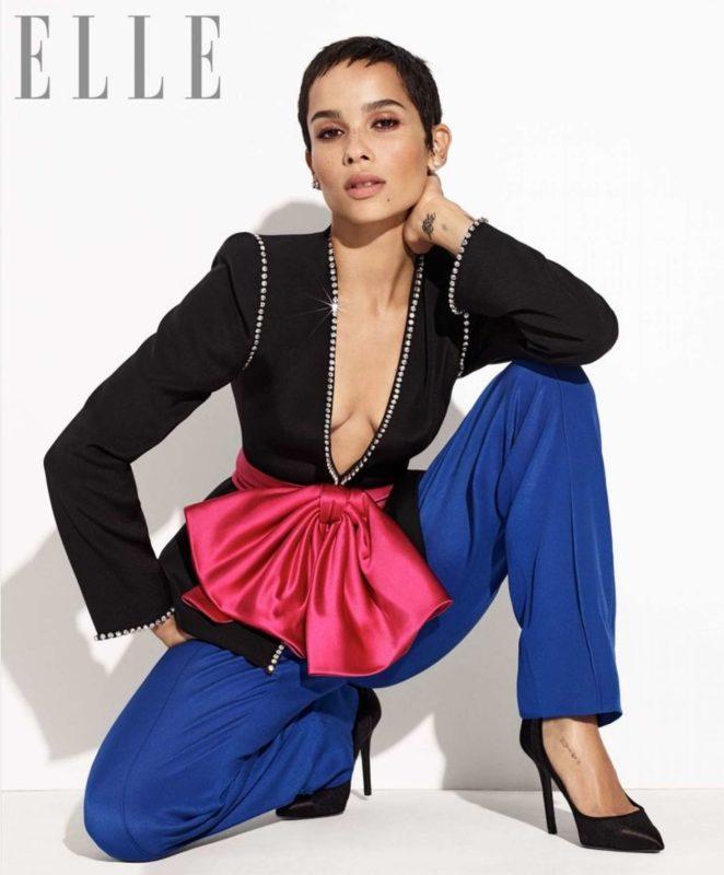Zoe Kravitz - Elle US Magazine (January 2018)