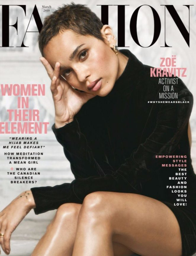 Zoe Kravitz - Fashion Magazine (March 2018)