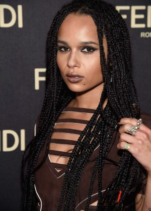 Zoe Kravitz - Fendi New York Flagship Boutique Inauguration Party in NYC