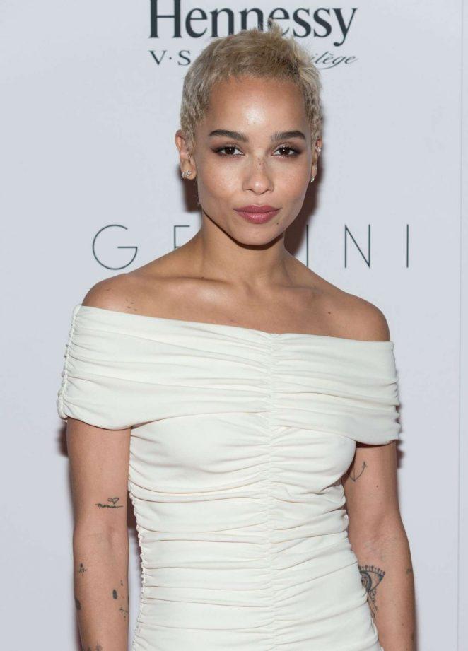 Zoe Kravitz - 'Gemini' Premiere in New York