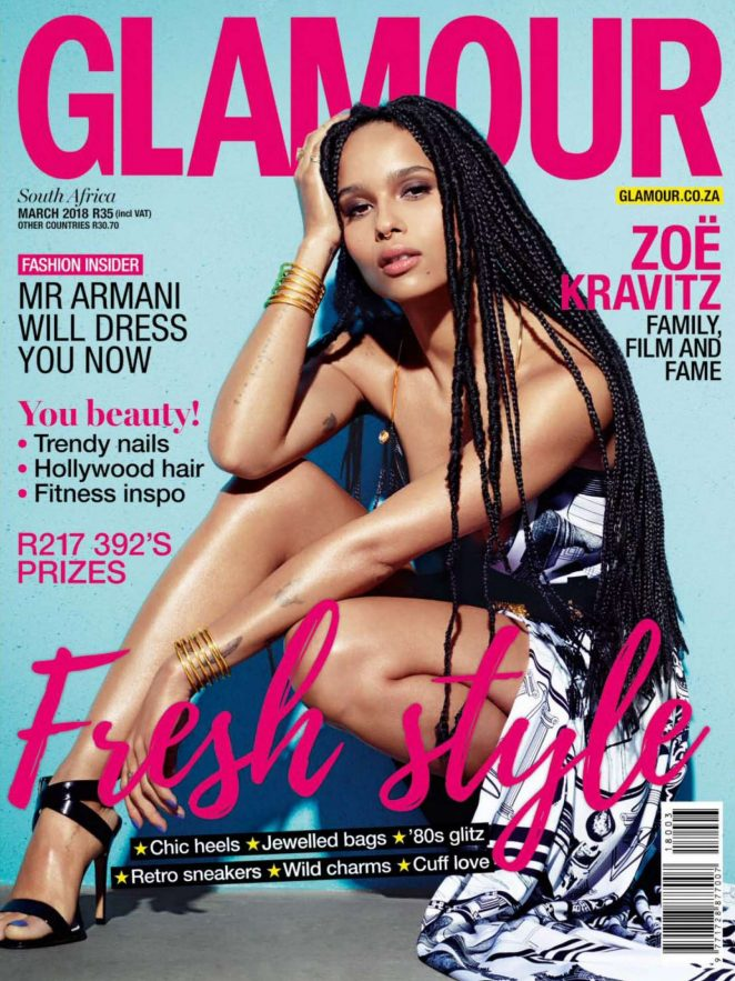 Zoe Kravitz - Glamour South Africa (March 2018)