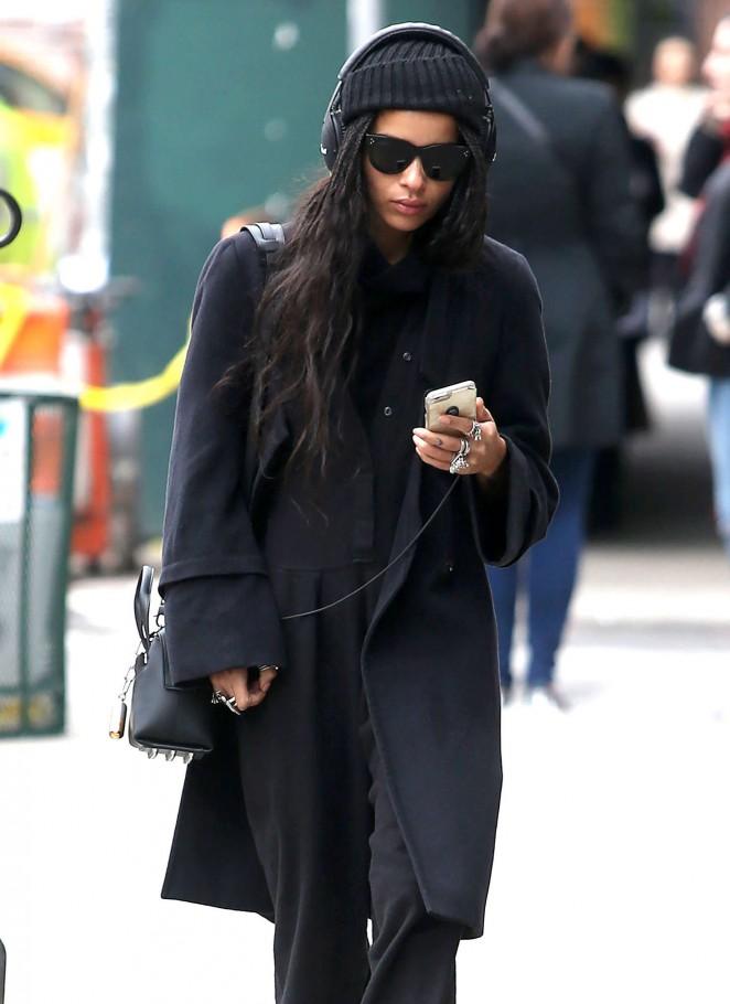 Zoe kravitz in black out in new york 05 gotceleb for Bureau zoe new york