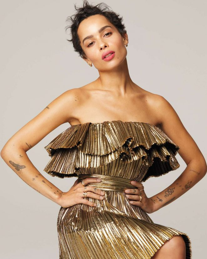 Zoe Kravitz - InStyle Magazine (May 2018)