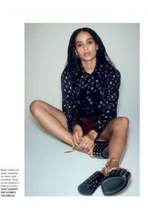 Zoe Kravitz – L'Officiel Paris Magazine (February 2019)