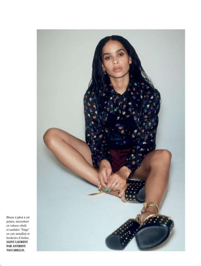 Zoe Kravitz - L'Officiel Paris Magazine (February 2019)