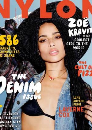Zoe Kravitz - Nylon US Magazine (August 2015)