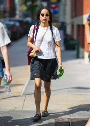 Zoe Kravitz - Out and about in New York City
