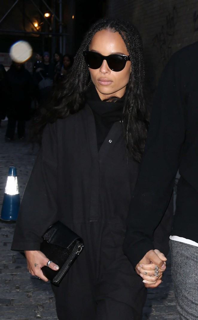 Zoe Kravitz – Out and about in New York