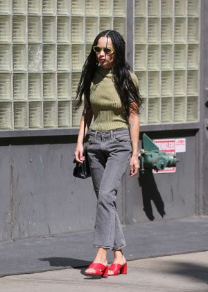 Zoe Kravitz - Out in New York City