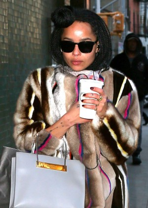 Zoe Kravitz - Out in NYC