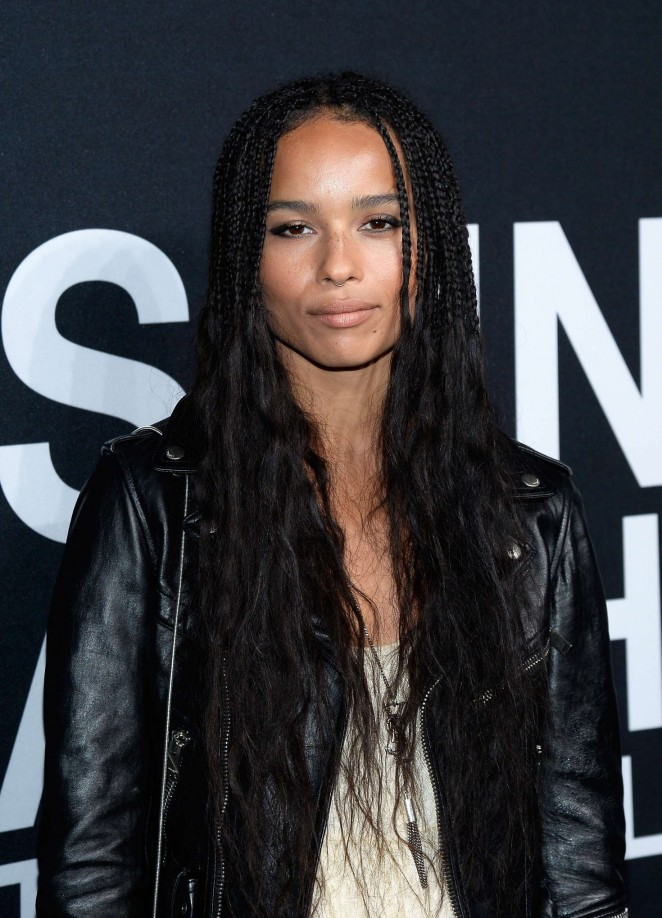 Zoe Kravitz - Saint Laurent Show in Los Angeles