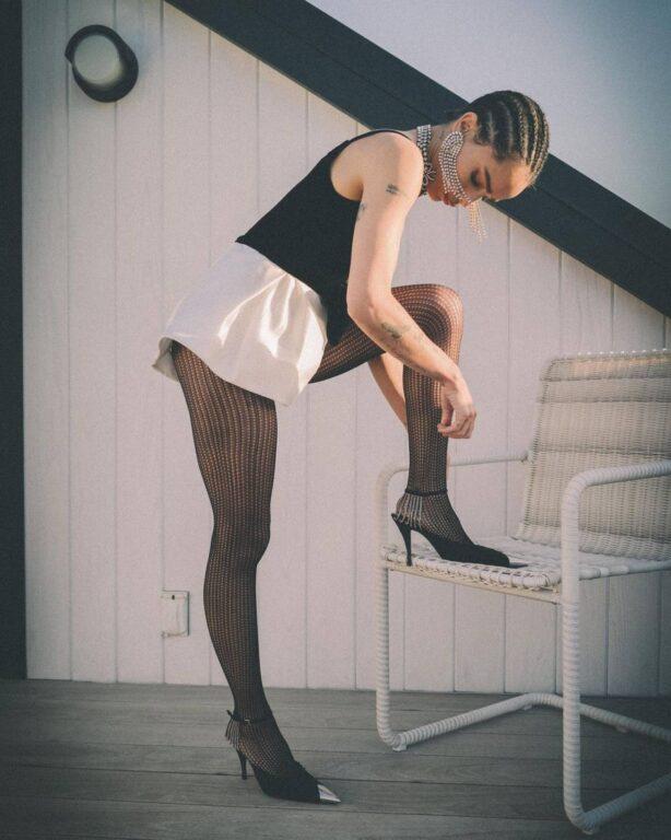 Zoe Kravitz - Saint Laurent Women's Winter 2021 virtual fashion show