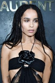 Zoe Kravitz - Saint Laurent Womenswear SS 2020 Show at Paris Fashion Week