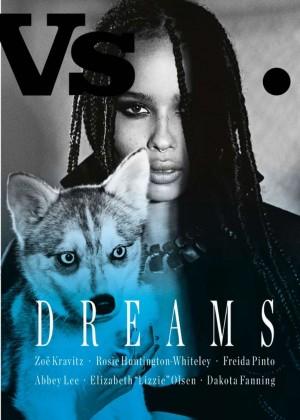 Zoe Kravitz - Vs. Magazine Cover (Spring/Summer 2015)