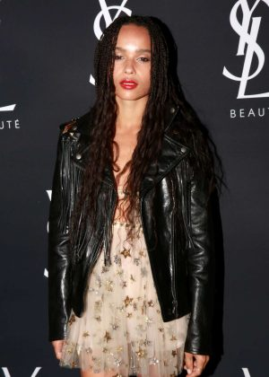 Zoe Kravitz - Yves Saint Laurent Beauty in West Hollywood