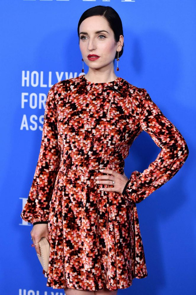 Zoe Lister Jones - Hollywood Foreign Press Association's Grants Banquet in Beverly Hills