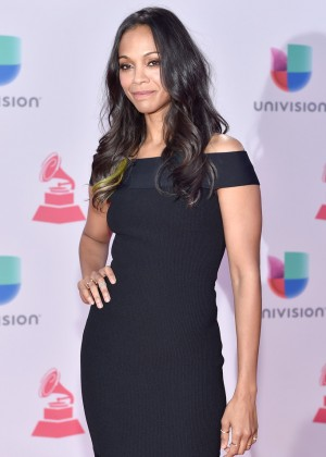 Zoe Saldana - 2015 Latin GRAMMY Awards in Las Vegas