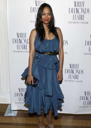 Zoe Saldana - Alfre Woodard's Oscar's Sistahs Soiree in Beverly Hills