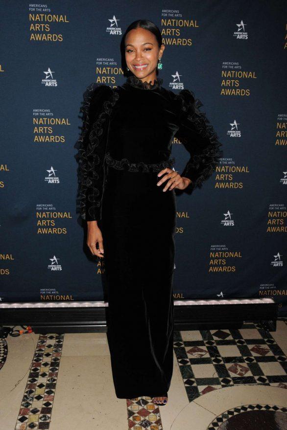 Zoe Saldana - Americans for the Arts Celebrates their 2019 National Arts Awards in NY