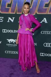 Zoe Saldana - 'Avengers: Endgame' Premiere in Los Angeles