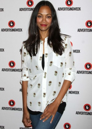 Zoe Saldana - AWXII Day 2 in New York