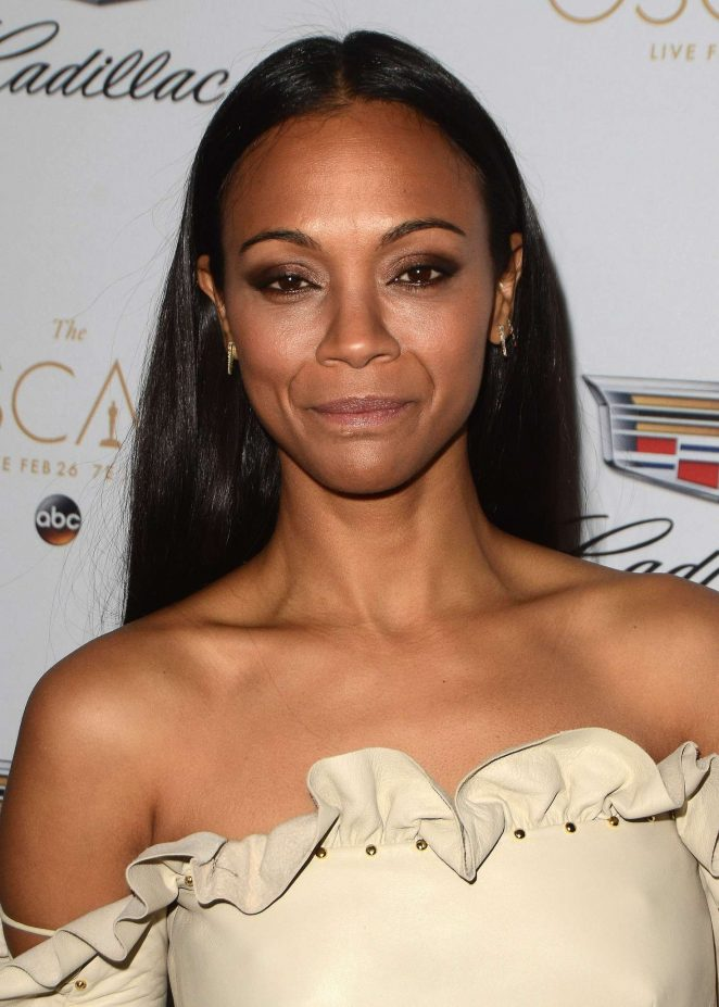 Zoe Saldana: Cadillac celebrates The 89th Annual Academy Awards -02