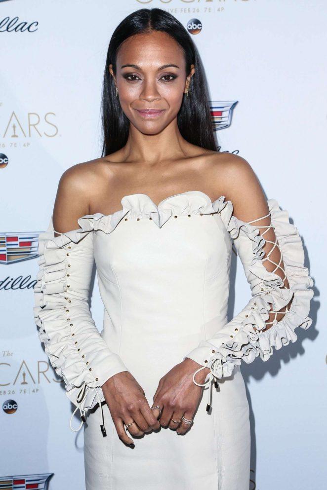 Zoe Saldana: Cadillac celebrates The 89th Annual Academy Awards -27