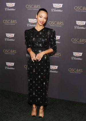 Zoe Saldana - Cadillac celebrates The 91st Annual Academy Awards in LA