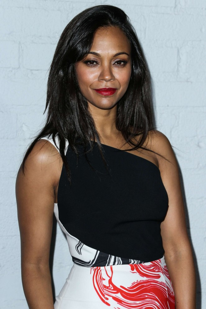 Zoe Saldana - Samsung The Galaxy S6 and Galaxy S6 Edge Launch in LA