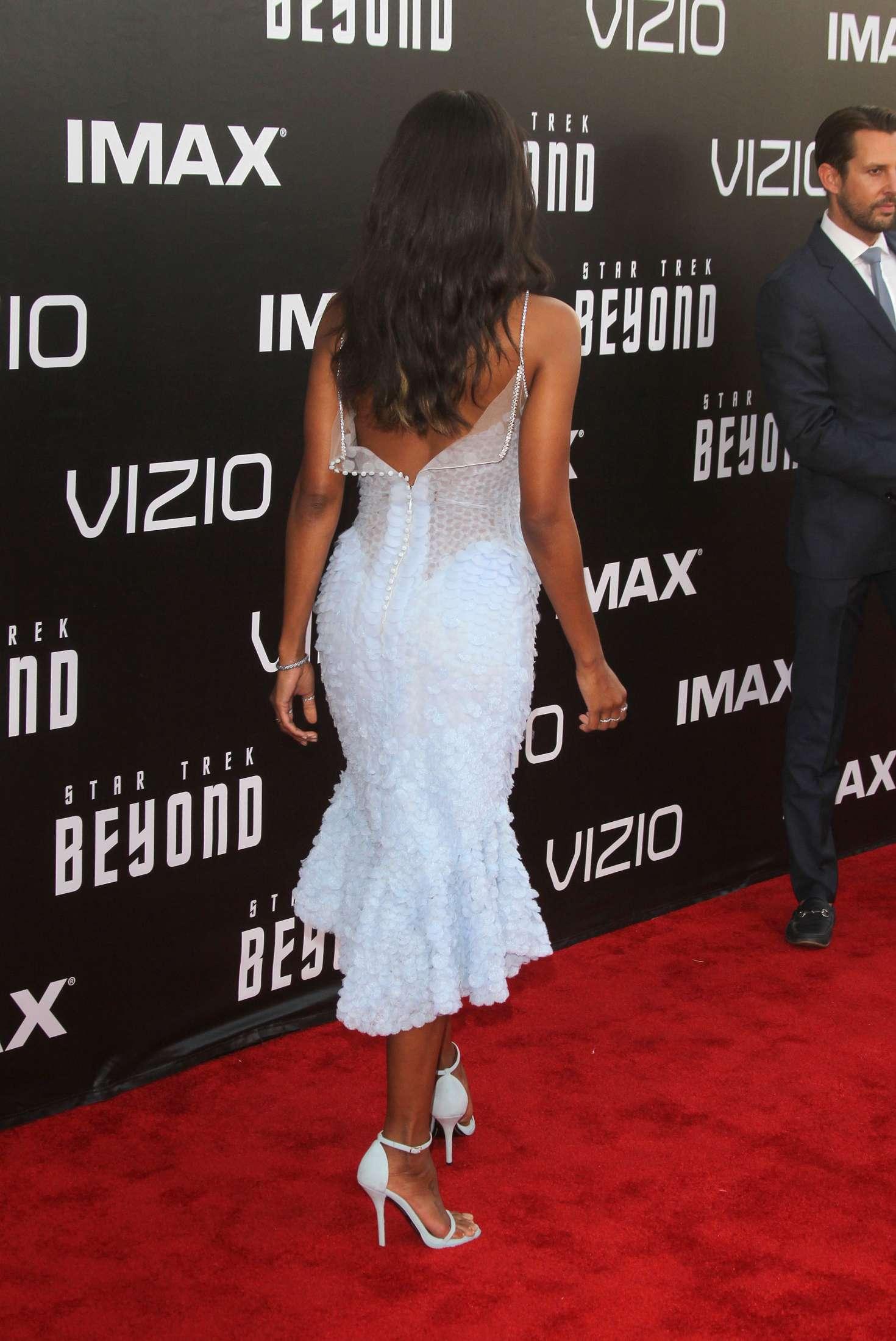 Zoe Saldana Star Trek Beyond Premiere 15 Gotceleb