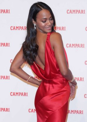 Zoe Saldana – The Legend of Red Hand Photocall in Milan