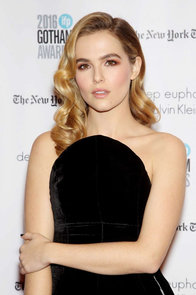 Zoey Deutch - 2016 Gotham Independent Film Awards in New York