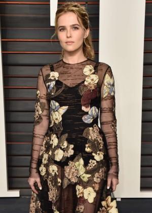 Zoey Deutch - 2016 Vanity Fair Oscar Party in Beverly Hills