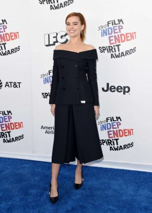 Zoey Deutch - 2018 Film Independent Spirit Awards in Santa Monica