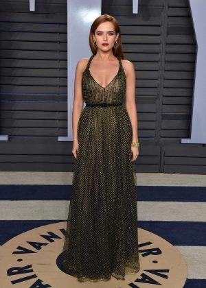 Zoey Deutch - 2018 Vanity Fair Oscar Party in Hollywood